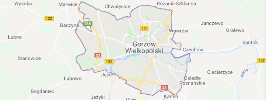dzielnice gorzów wielkopolski