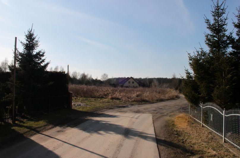 Działka sprzedaż Kłodawa, Chwalęcice, 1200 m<sup>2</sup>