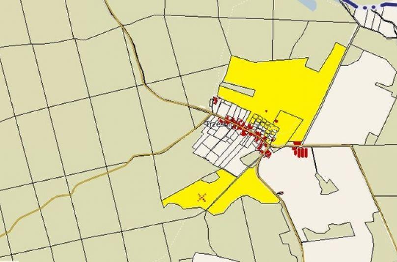 Działka sprzedaż Ośno Lubuskie, Trześniów, 1036378 m<sup>2</sup>