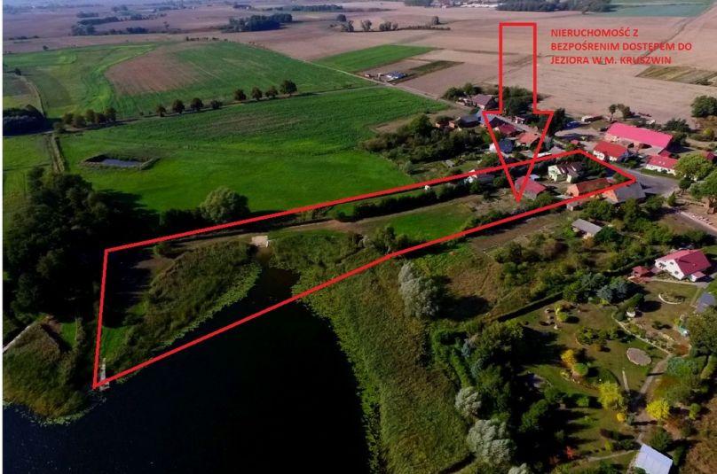 Dom sprzedaż Myślibórz, Kruszwin, 9 pokoi, 220 m<sup>2</sup>