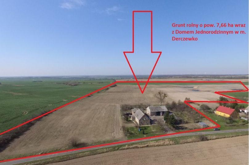 Dom sprzedaż Lipiany, Derczewko, 6 pokoi, 150 m<sup>2</sup>