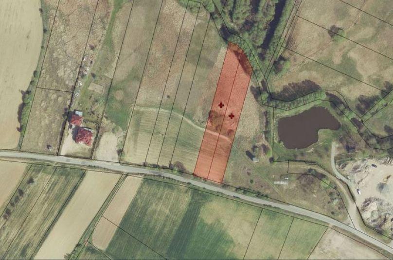 Działka sprzedaż Kłodawa, 4540 m<sup>2</sup>