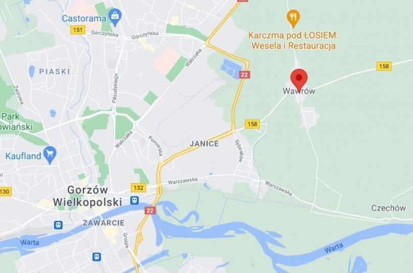 Obiekt sprzedaż Santok, Wawrów, 17000 m<sup>2</sup>